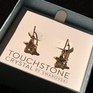 Touchstone Crystal by Swarovski starfish earrings